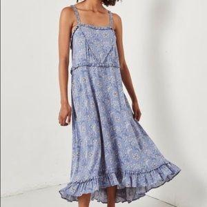 Spell Celestial Midi Dress XS